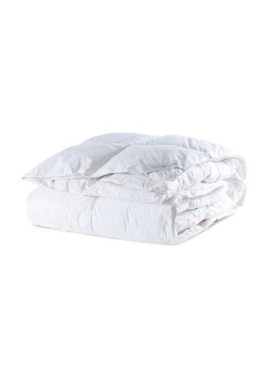 Penelope Dove Kaz Tüyü Yorgan Tek Kişilik 155x215 Beyaz